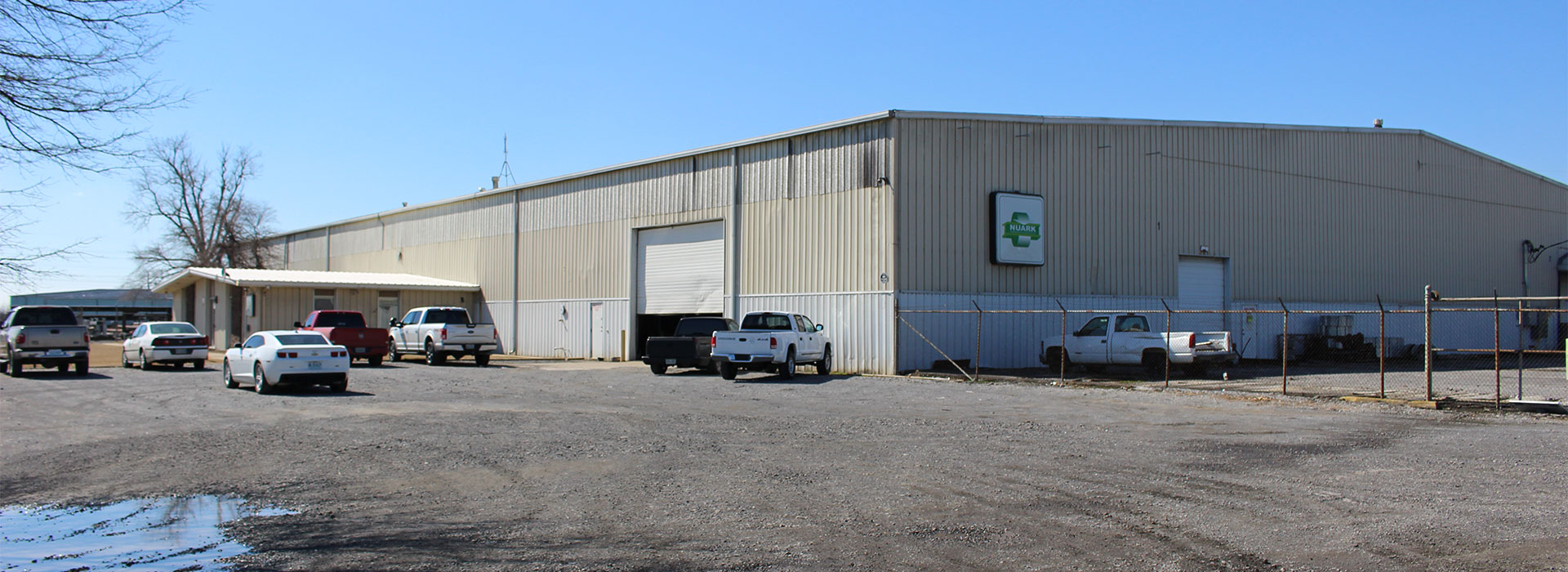 Nuark Warehouse located in Blytheville, AR.